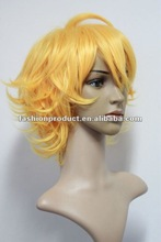 2012 the new design yellow color hair styles short layered hair
