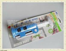 plastic wine opener with handle
