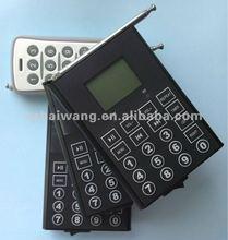Bird songs reproductor, Con temporizador y control remoto, 650 #