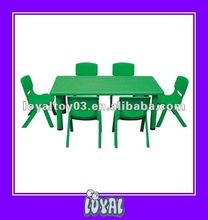 China Produced 2012 newly design hot sell kid table and chair Low Price With Good Quality