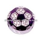 10mm Rhinestone Sports Charm/ Jewelry Sets