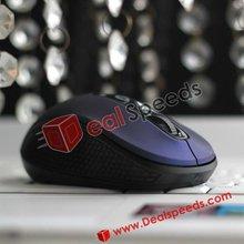 Hot Sale Special Design Driver Mini Wireless Optical Mouse(Dark Blue)