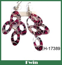 cute summer style 2012 good quality plastic earrings