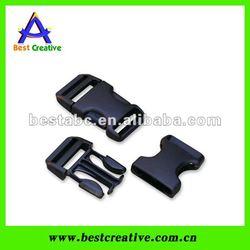 Plastic side release buckles