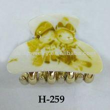 kids plastic hair clip claw clasps cheap hair clips laminate hair clamp