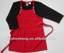 Fashion casual clothes , waist, long sleeve, flower girls dress2012