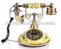 Identificador de chamadas do Vintage ID com fio de telefone