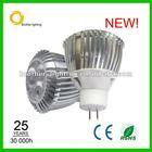 cree 12v 3w gu4 led mr11 spot bulb( E11,GU10,BA15D,GU4 base available)