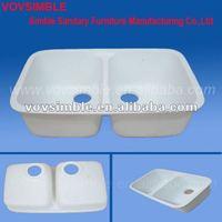 Vovsimble Best-Idea Gel Coat Double Kitchen Sink