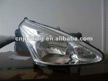 Nissan Tiida headlight