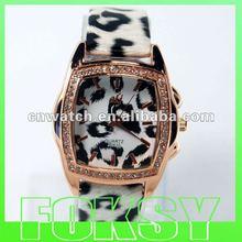Zebra high quality plastic watches fashion ladies