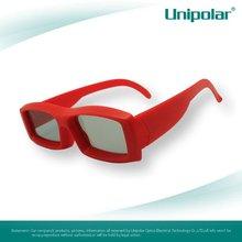 Passive Linear Polarized 3D Glasses for Imax