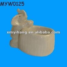 in ceramica di design 2012 elefante vasetti di candela