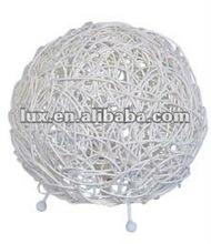 Mesa de plástico bola forma lâmpada