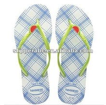 lady rubber soft sole flip-flops