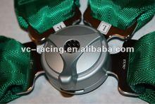 "2012 Hot selling FIA 2017 Homologation Eyebolts 3"" 4 Points Quick Release Sport Car Safety Seat Belt"