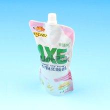 liquid plastic spout doypack pouch