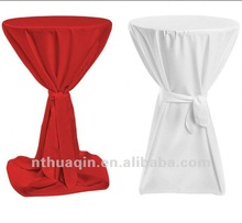 scuba bistro table cover cocktail table cover with sash wedding high bar table cover for party