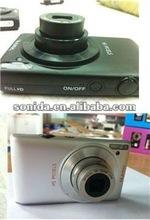 Black/Red/Silver Video camera digital 2012