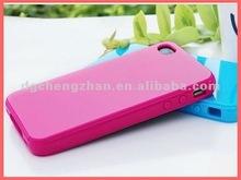 Simple design silicone mobile phone cover 2012