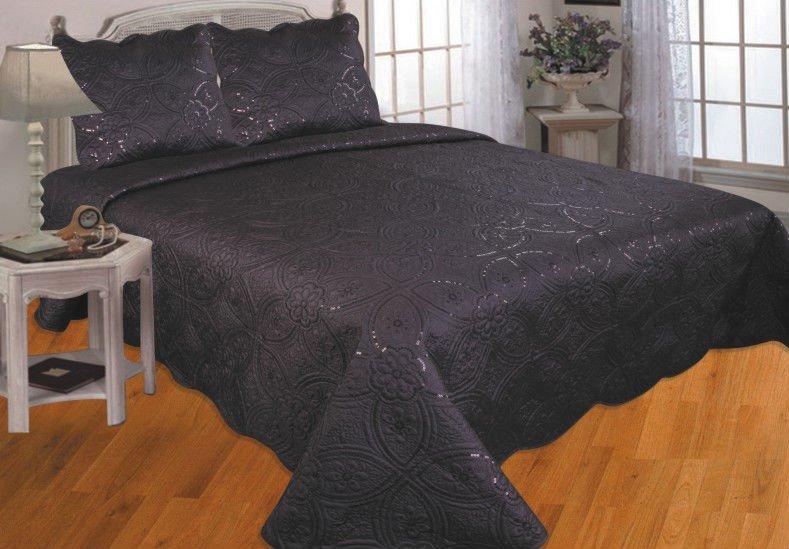 Black and silver glitter comforter set buy black and silver glitter