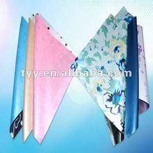 fashion floral printing satin parasol umbrella fabric