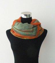 2012 fashion crinkle silk chiffon scarf