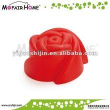 silicone rose shape cake bakeware