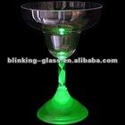 LED Light Up Flashing Martini Glass