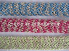 Braided hemp/sisal/jute ropes