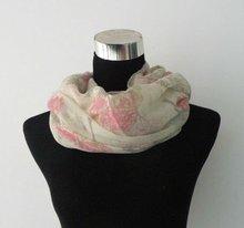 pink chiffon fashion new style winter cape coat