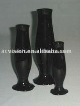 Crystal Black and nice look Jingdezhen Ceramic Art Fair Flower vases