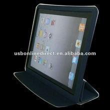 iPad 2 Smart Cover Slim Magnetic PU Leather Case Wake/ Sleep Stand Multi-Color Black