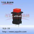 Botões de arcade flush válvula yl6-39 telemecanique