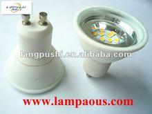 4W 8pcs SMD3528 85~265V led spot housing light ceramic spot light