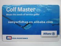 30mil Golf Club membership Cards
