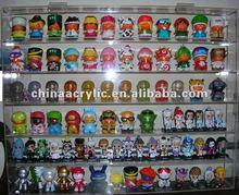 clear custom acrylic toy display cabinet
