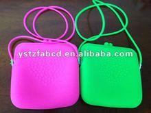 FDA & SGS Fashion Silicone 2012 Cross Body Bag for Girls
