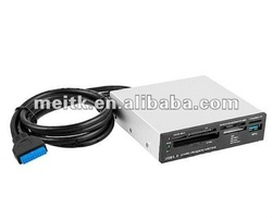 """USB 3.0 20 Pin Header to 3.5"""" Front Panel"""