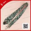 fashion leopard skin pattern neck strap for mobile phone/card holder
