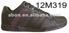 Pu fashion mens new style running shoes
