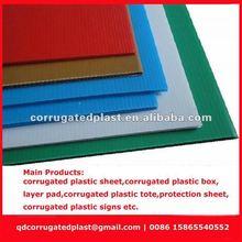 2012 Hot Sale Corrugated Plastic Sheet