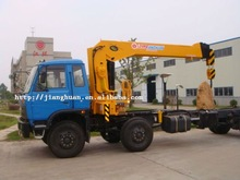 8 ton Hydraulic Telescopic Boom Mobile Crane