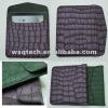 crocodile grain pu leather pouch for ipad 3
