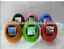 novelty roly-poly & egg 1.5 mini digital photo frame