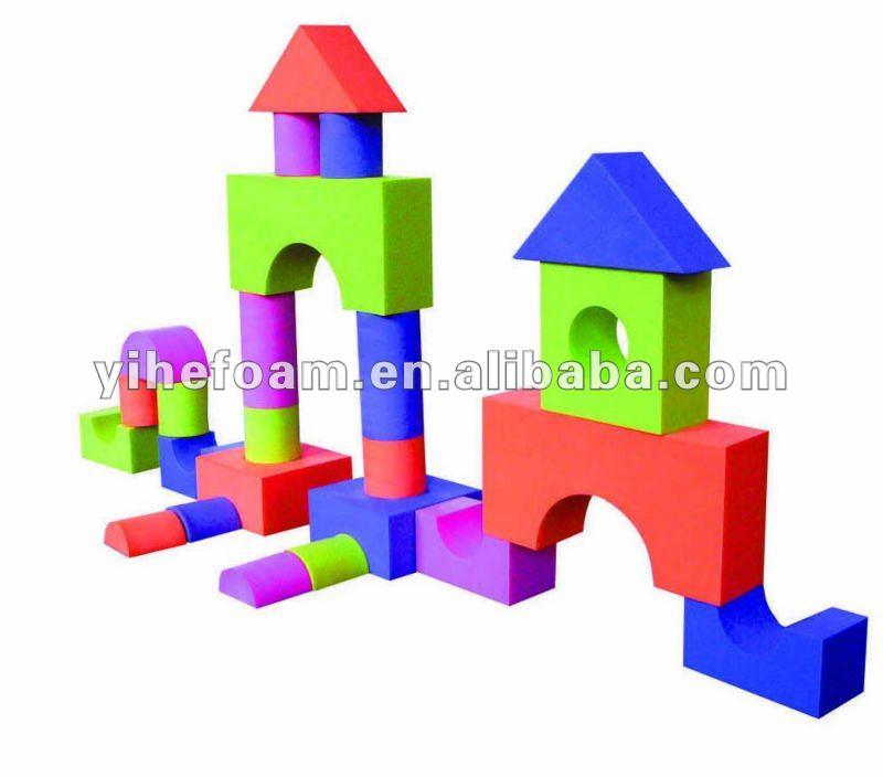 Categories gt eva foam toys gt lovely eva foam toy building blocks