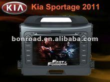 newest double din kia sportage 2012 car dvd/gps