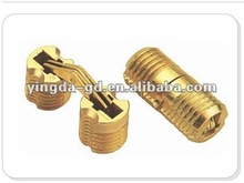 14MM Zinc alloy cylinder hinge/ barrel concealed hinge/invisible hinge