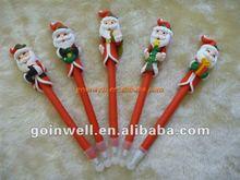 Novelty Christmas polymer clay pen