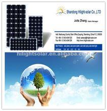 90W 95W 100W china panels solar monocrystalline silicon flexible solar panel with TUV CE CEC IEC